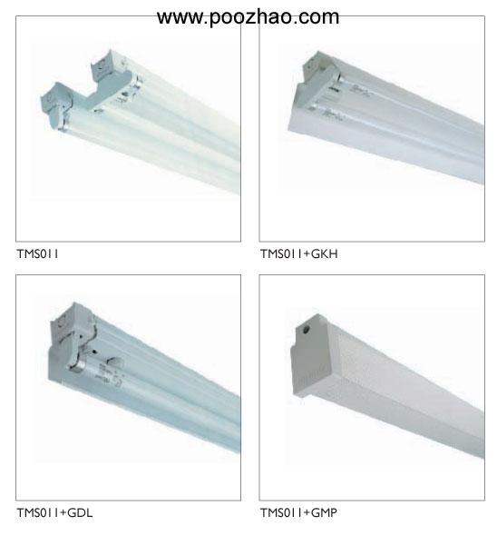 带电容的双管日光灯接线图