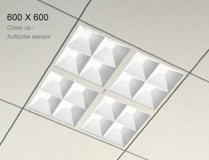 飞利浦powerbalance led嵌入式灯具rc600b 飞利浦led办公照明高清图片